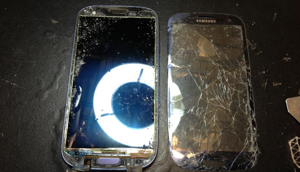 Samsung Galaxy mit defekten Display bzw. Touchscreen